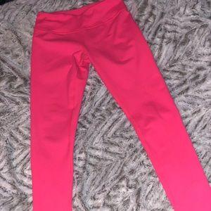 Hot pink Zella leggings size S